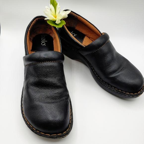 Bolo By Black Leather Platform Loafer